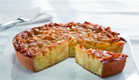 Изысканный венский пирог с яблоками