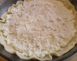творожная масса в пироге