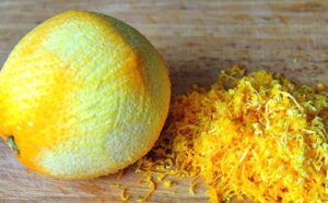 натираем апельсин