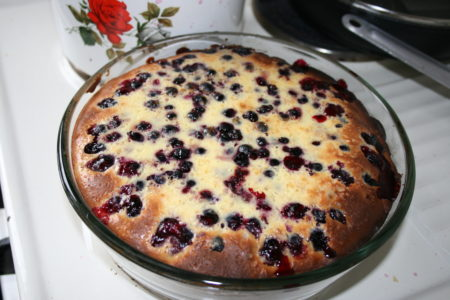 Пирог в сосуде для мультиварки