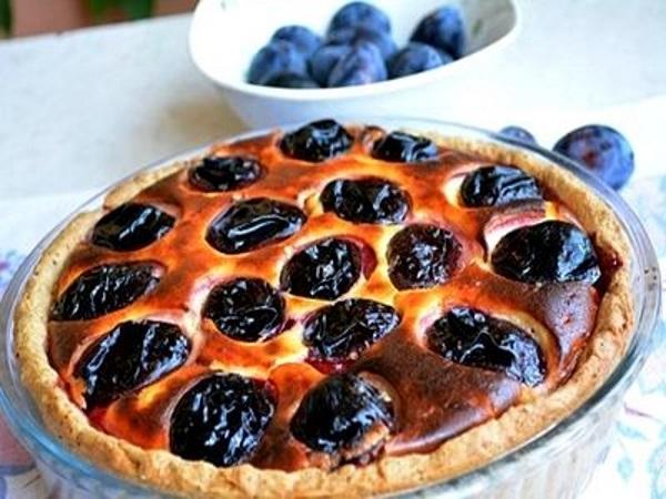 Пирог со сливами рецепт юлии высоцкой
