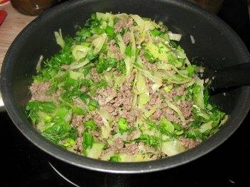капуста с мясом