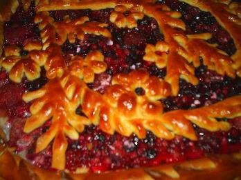 декорирование пирога