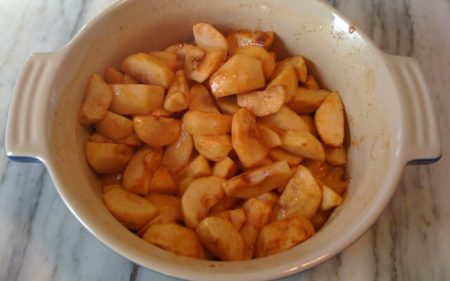 Запекаем яблоки