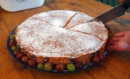 классический пирог с крыжовником