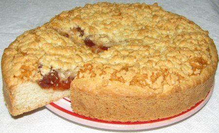 Песочный готовый пирог