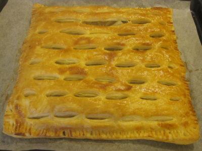 готовый слоеный пирог