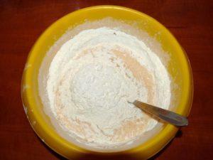 тесто на пирог