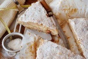готовые куски пирога
