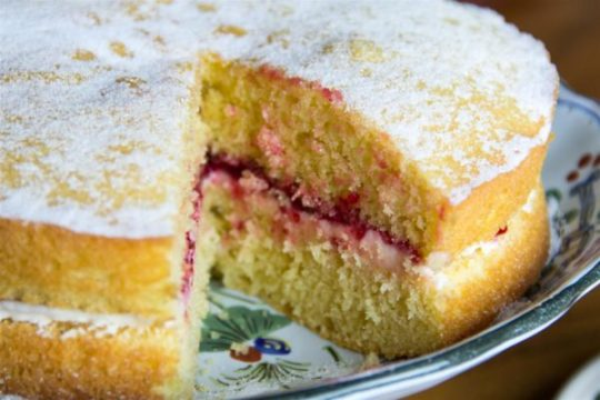готовый пирог