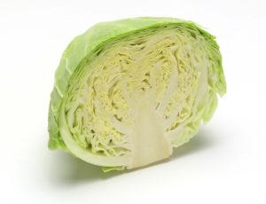половина белокочанной капусты