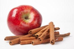 яблоки, корица