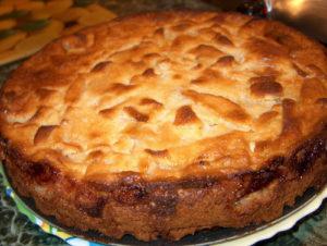 готовый пирог из мультиварки