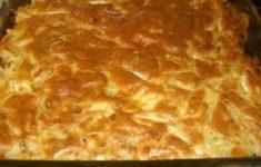 готовый пирог с капустой