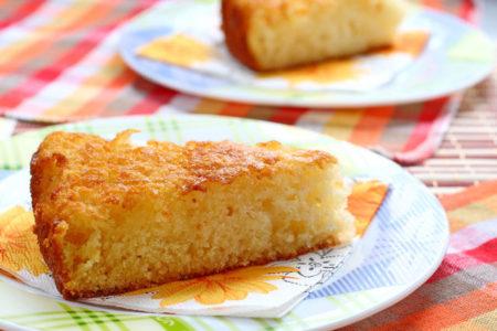 кусочек пирога из мультиварки