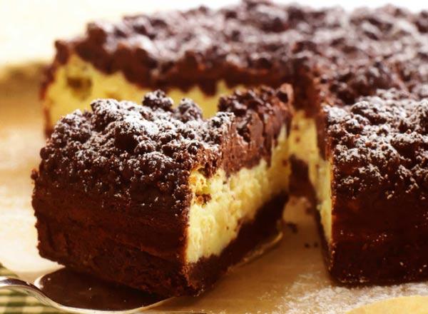 Тертый пирог с какао рецепт