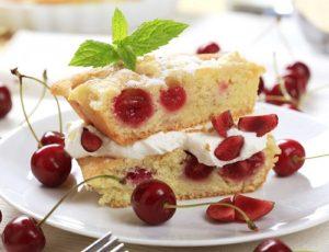 готовый кусок пирога
