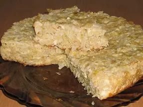 готовый ленивый пирог