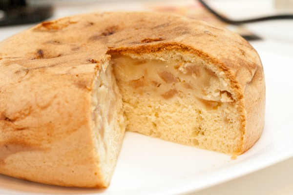 Пироги с бананом и яблоком фото и рецепт