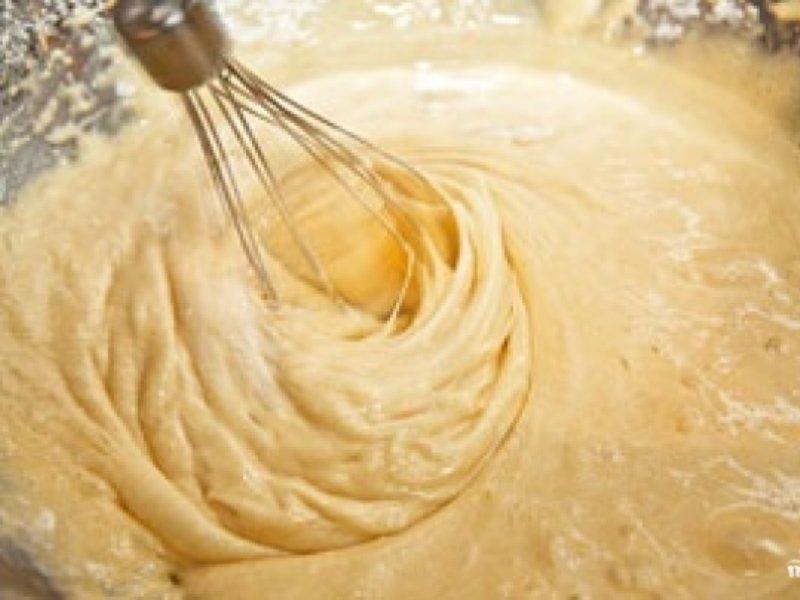 Тесто для шарлотки с яблоками с пошаговым фото