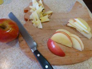 Яблоки для приготовления пирога