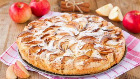 Пирог, приготовленный в мультиварке