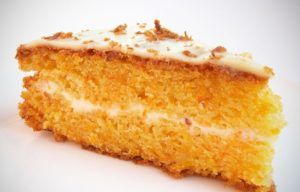 Сметанный крем в пироге