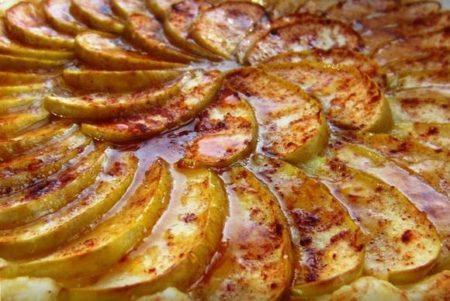 Начинка из карамельных яблок