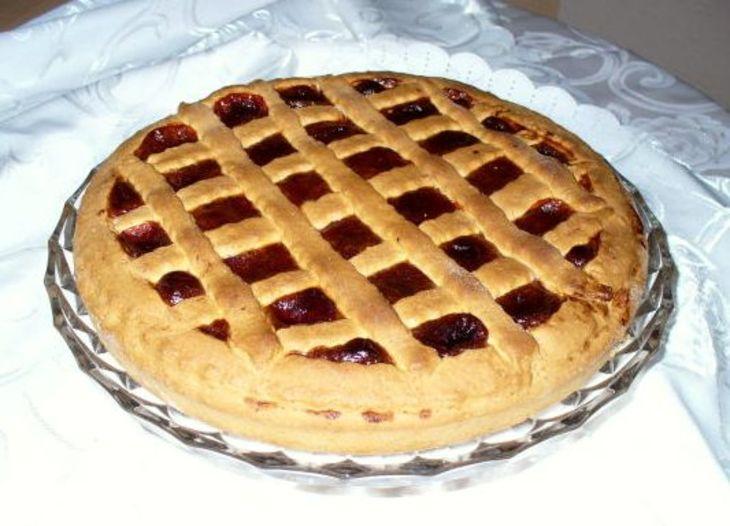 Пирог на дрожжах с повидлом рецепт с фото пошагово