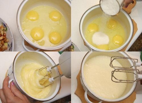 Пирог с яблоками простой рецепты пошагово