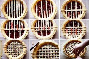 Решетка для вишневого пирога