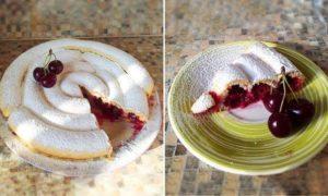 Пирог на столе