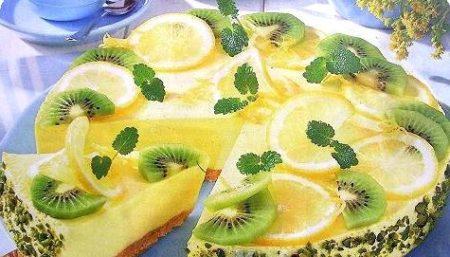 Торт с апельсинами