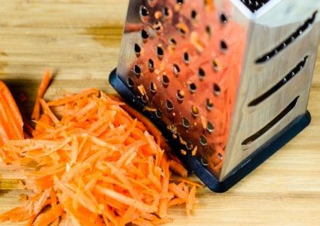 Морковь на терке