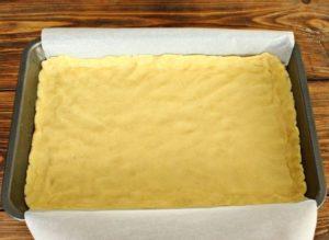 Рецепт песочного пирога с повидлом