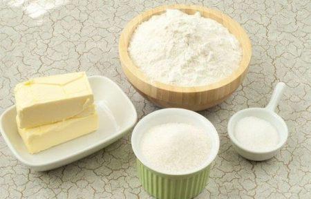 Ингредиенты для приготовления теста