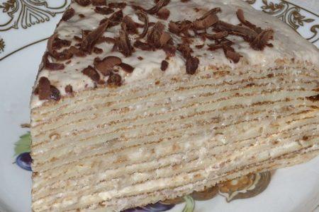 Слоеный пирог из блинов