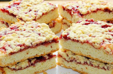 Венгерский насыпной пирог