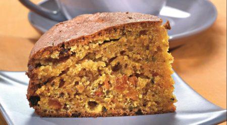 готовый морковный пирог