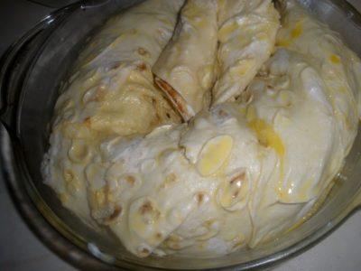 заливка пирога